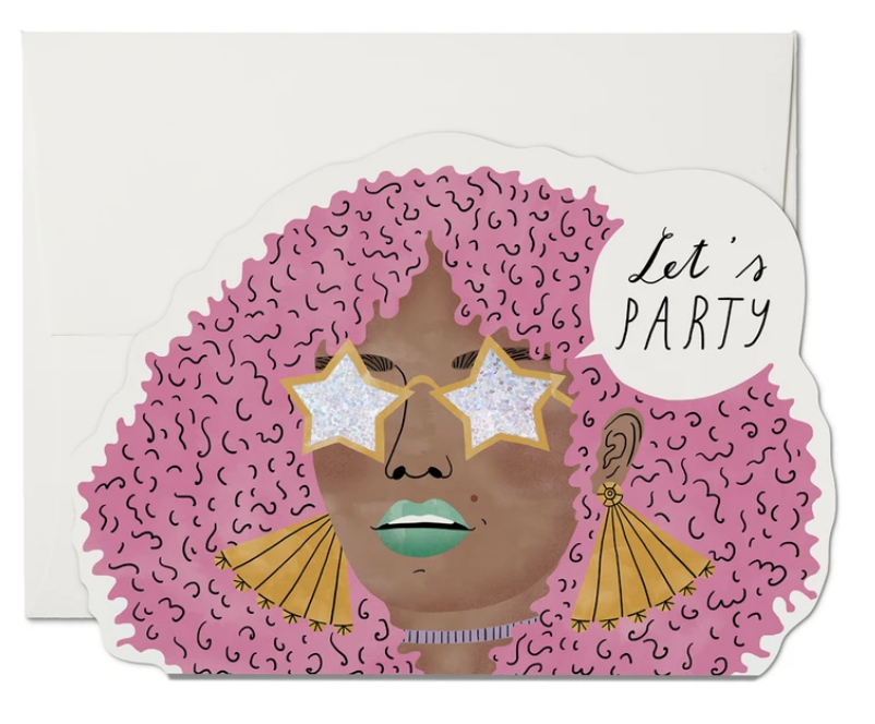 Let's Party Greeting Card