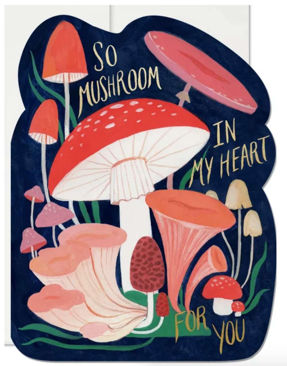 So Mushroom in my Heart Greeting Card