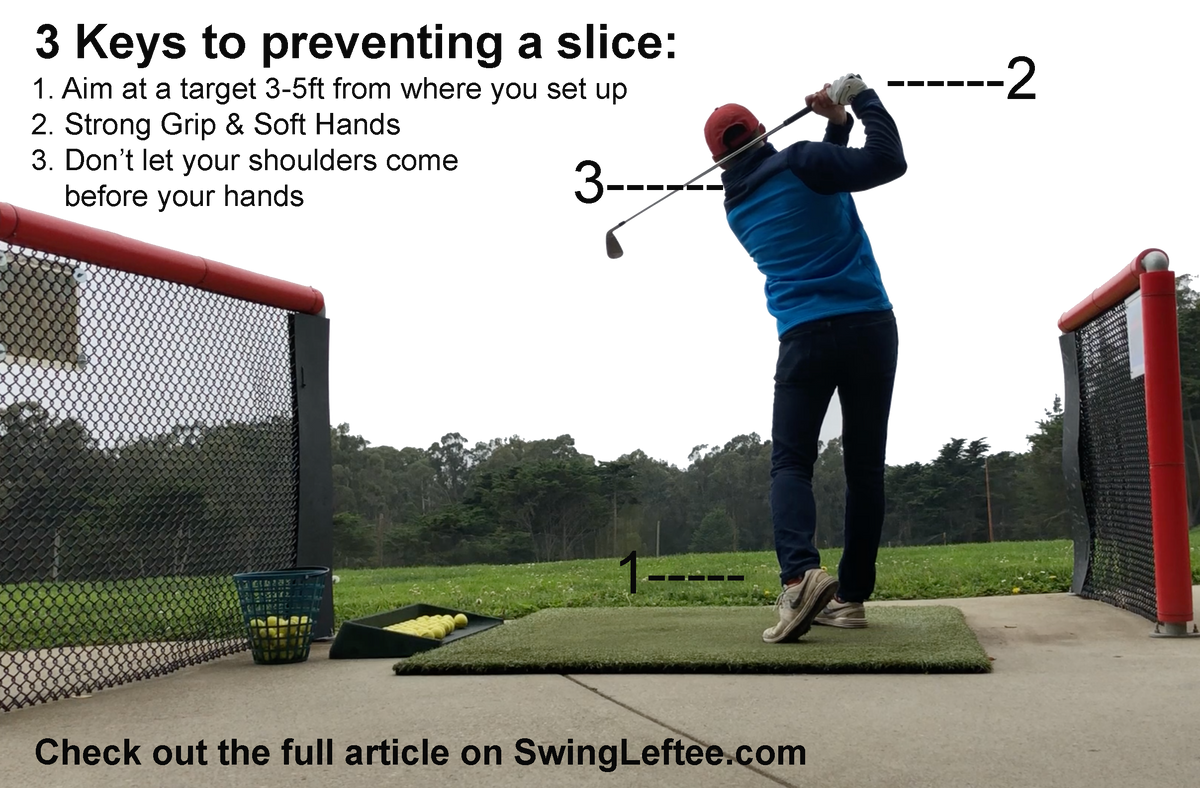 Leftee Golf Swing Lab: The Slice | left-handed driver golf club