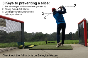 Leftee Golf Swing Lab: The Slice