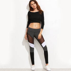 Sexy Mesh Fitness Leggings
