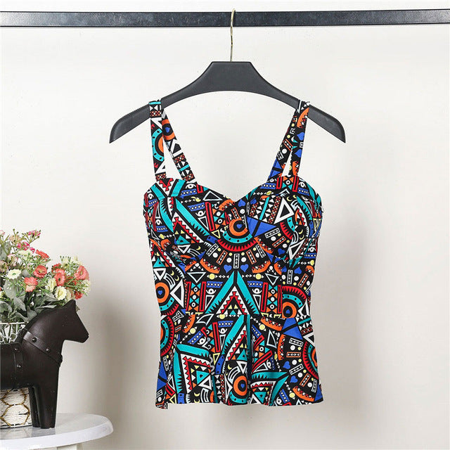 Bustier Summer Crop Top