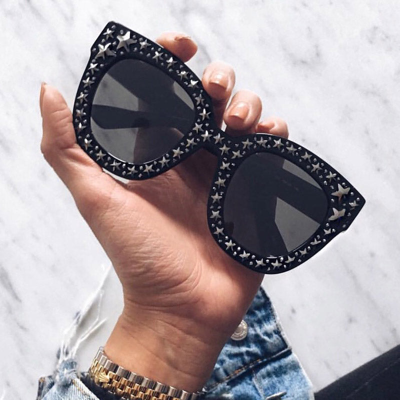 Crystal Square Star Sunglasses