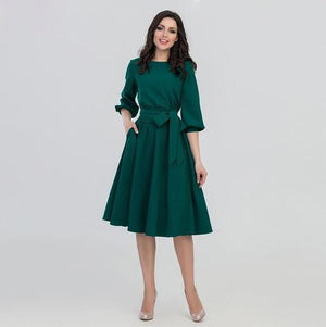 Women's Vintage Fall Dress