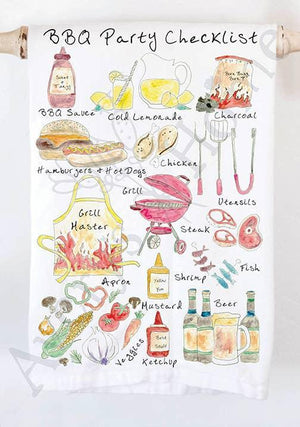 AVERY HOME TEA TOWELS - ASST DESIGNS
