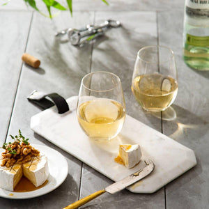 JOYJOLT - Stemless White Wine Glasses