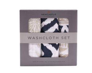 NEWCASTLE CLASSICS - WORLD WANDERER WASHCLOTH SET OF 3