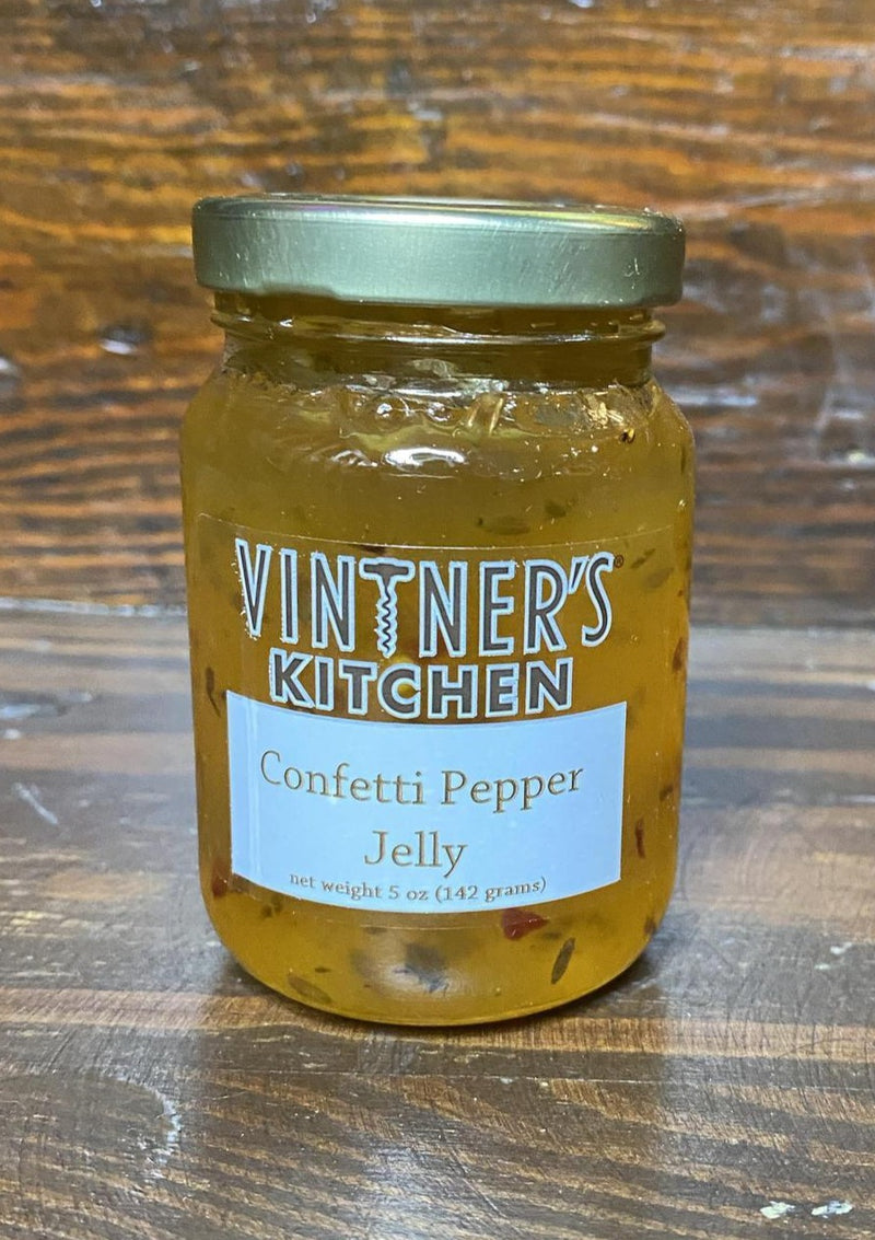 VINTNER'S KITCHEN SPICY PEPPER JELLY