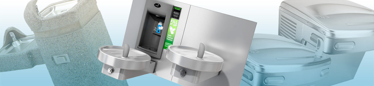 Bi-Level Drinking Fountains