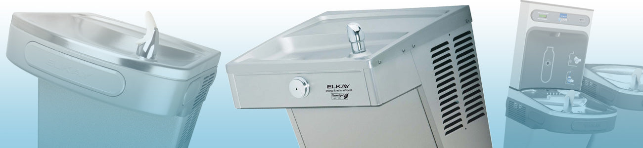 Elkay water fountains and repair parts