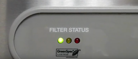 Elkay Filter Status Indication Light