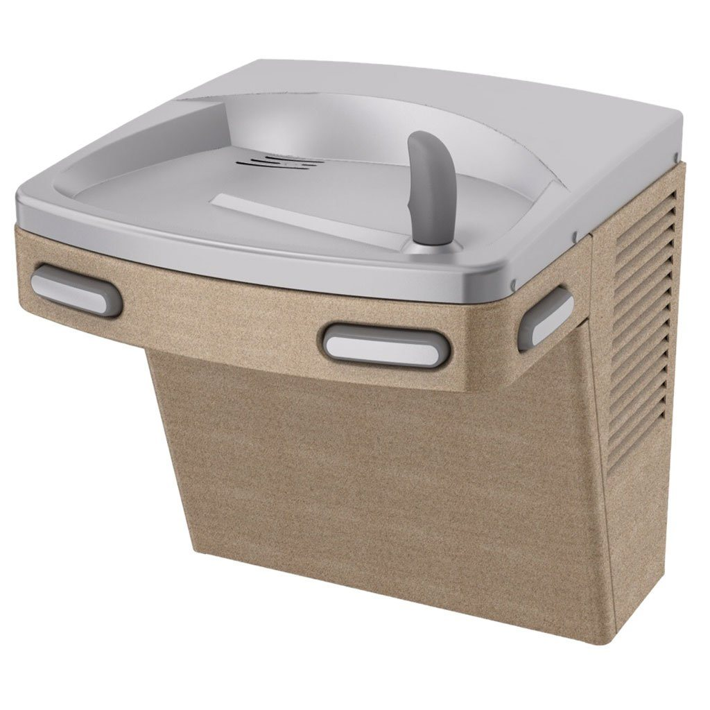 Oasis Water Fountain ADA Wall Mount Powder Coated Sandstone Panels