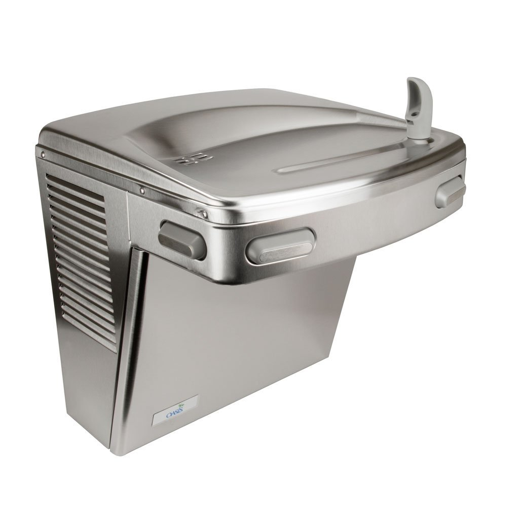 Oasis Water Fountain ADA Wall Mount Stainless Steel Panels