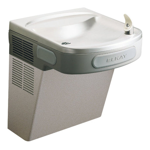 ADA Barrier Free Elkay Water Fountain Light Gray
