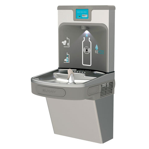 Elkay LZS8WSSP Enhanced ezH2O Water Cooler with Filtered Bottle Filler Stainless Steel