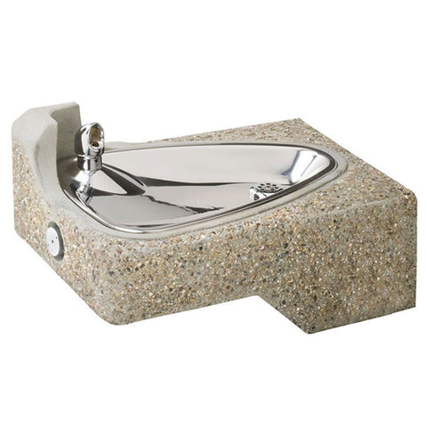 Drinking Fountains Wall Mounted + Bi-Level ADA Stainless Steel ...