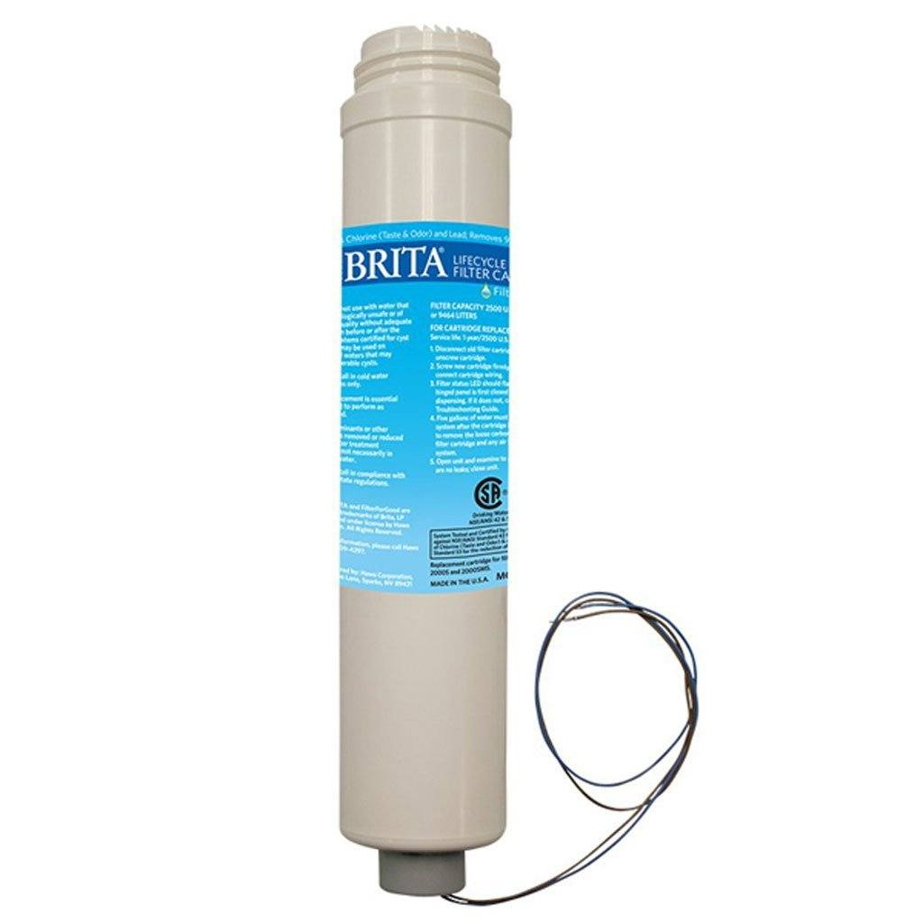 2,500 Gallon Replacement Filter for Brita Hydration Station Haws Corp