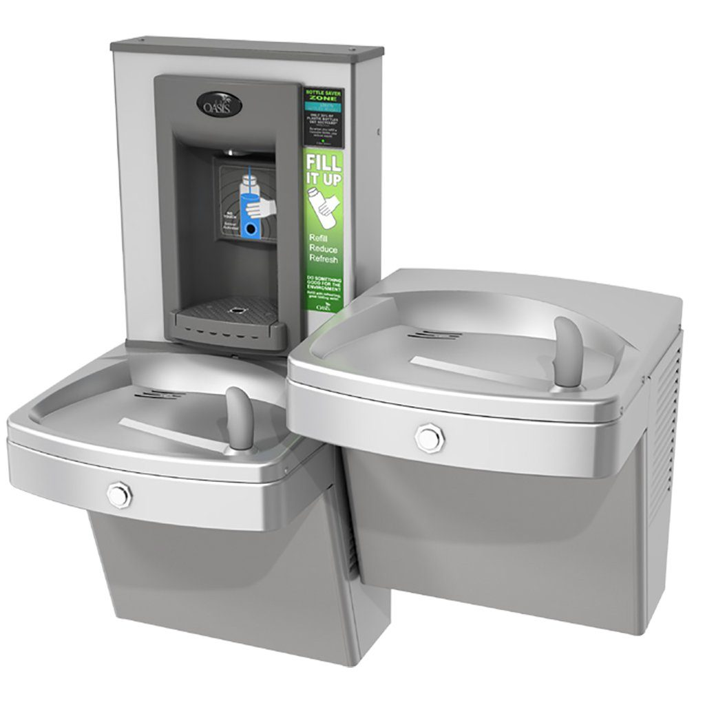 Oasis PGV8EBFSL Water Cooler with Sensor Bottle Filler Stainless Steel