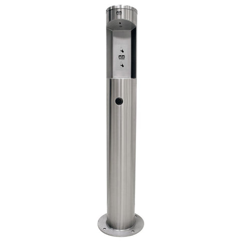 Stainless Steel Dual Sensor/Push Button Operated Murdock Bottle Filler