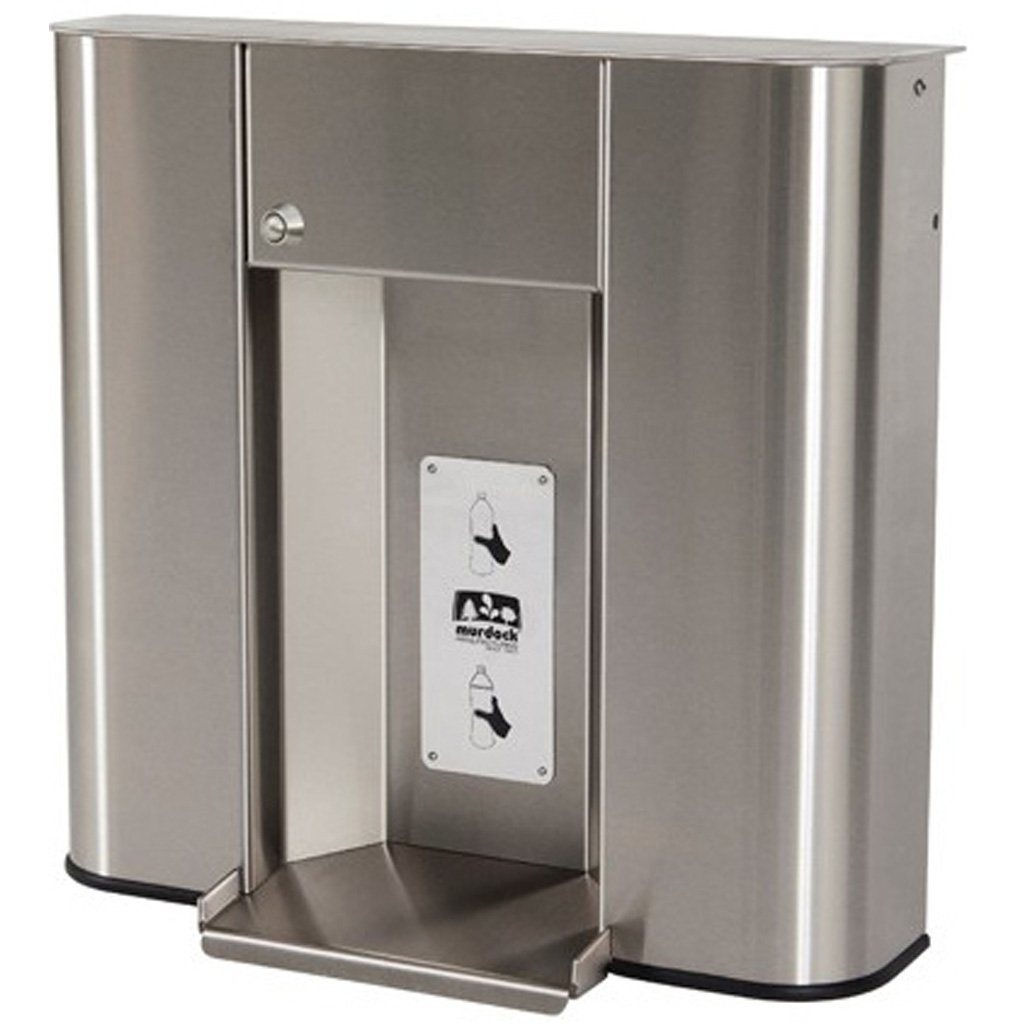 Murdock Push Button Bottle Filler Unit (Stainless Steel)