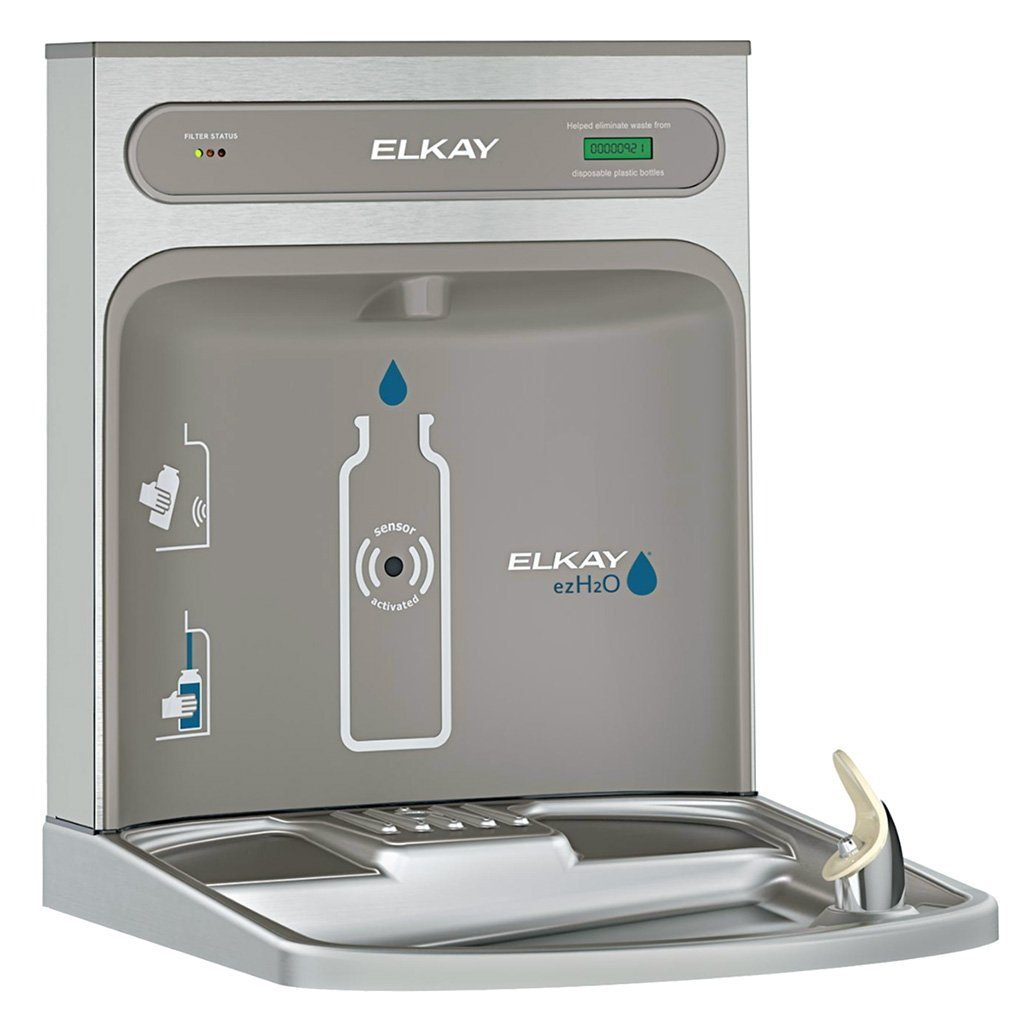 Retrofit Water Bottle Filling Station with Filter for Elkay EZ/LZ Water Cooler