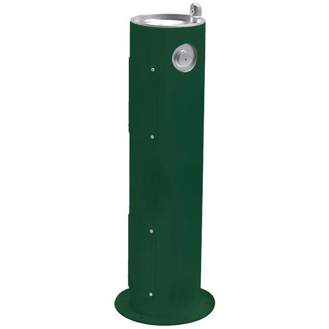 Elkay Outdoor Pedestal Drinking Fountain Evergreen
