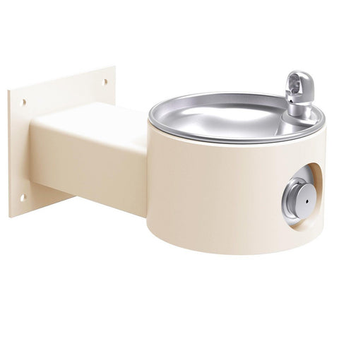 Elkay Outdoor Wall Mount Drinking Fountain Beige