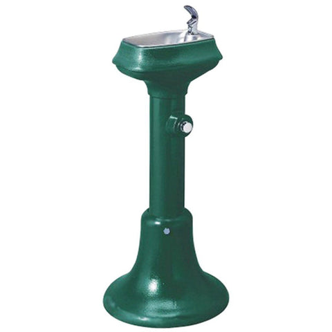 "Halsey Taylor Freeze Resistant Outdoor Drinking Fountain 36"" High"