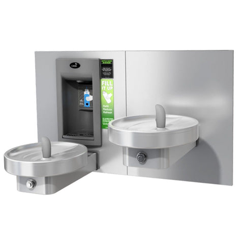 Oasis Bi-Level Drinking Fountain with Electronic Bottle Filler