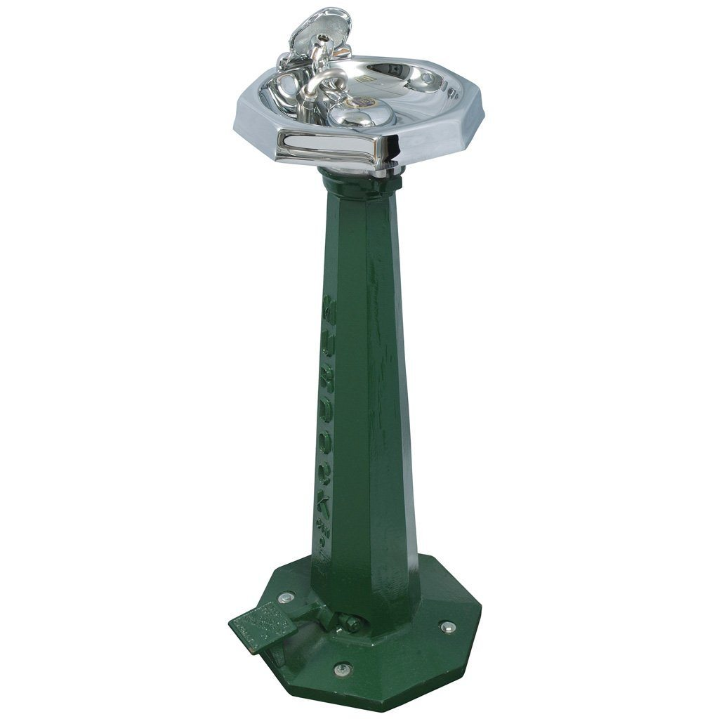 Murdock Outdoor Octagon Drinking Fountain with Foot Pedal Sale