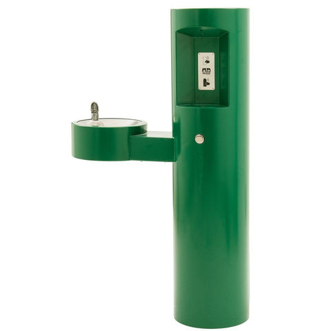 Murdock Barrier-Free Round Pedestal Drinking Fountain with Bottle Filler