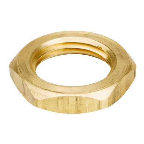 Brass Locknut 1/2 IPS