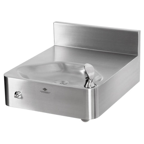Murdock Drinking Fountain for Rear Mount Stainless Steel Finish