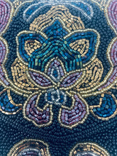 Vintage Paisley Beaded Evening Bag by Lilian Vernon