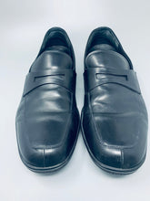 Italian leather shoes made by Prada