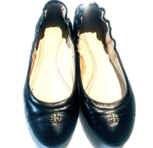 Tory Burch Cap Toe Flat 7.5