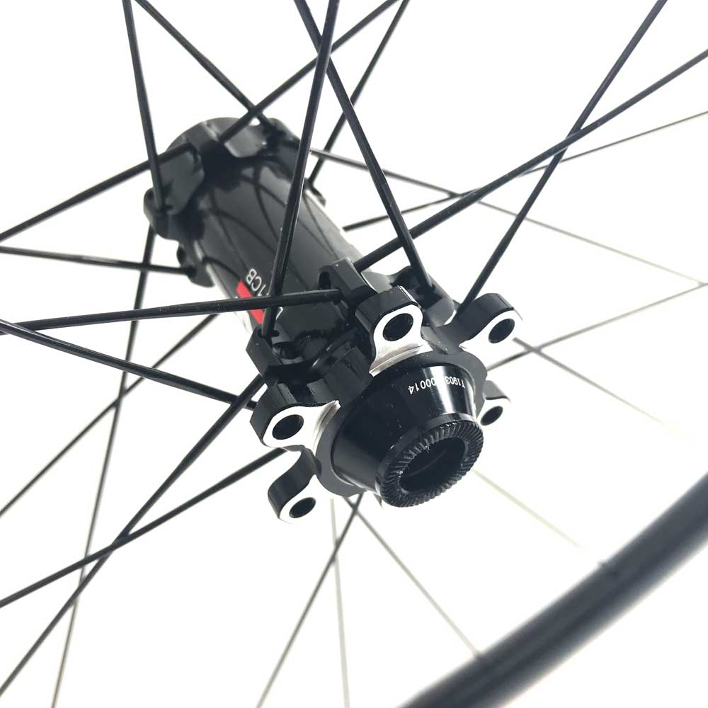 HUP TD50 Black Label 700c Disc Aero Tubular Wheelset