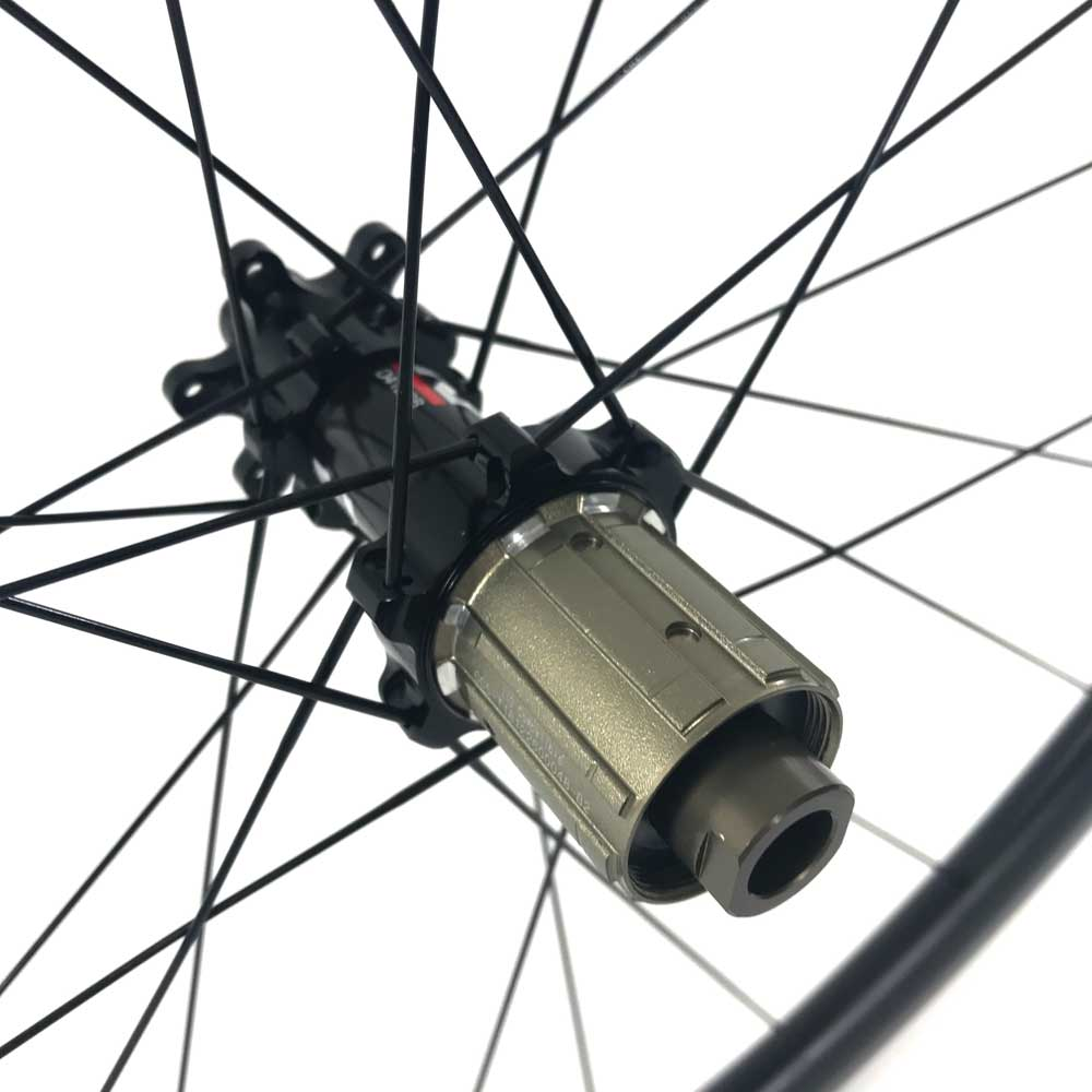 HUP CD50 Black Label 700c Aero Wheelset 50mm Deep