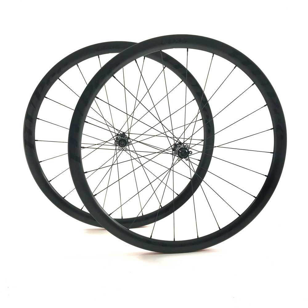 HUP TD35 Black Label 700c Aero Wheelset 35mm Deep