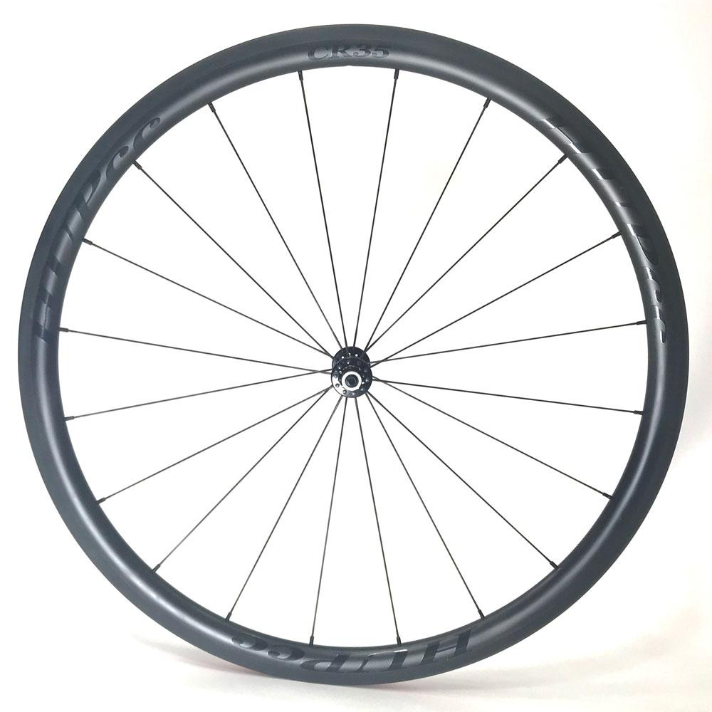HUP CR35 Black Label 700c Aero Wheelset 35mm Deep