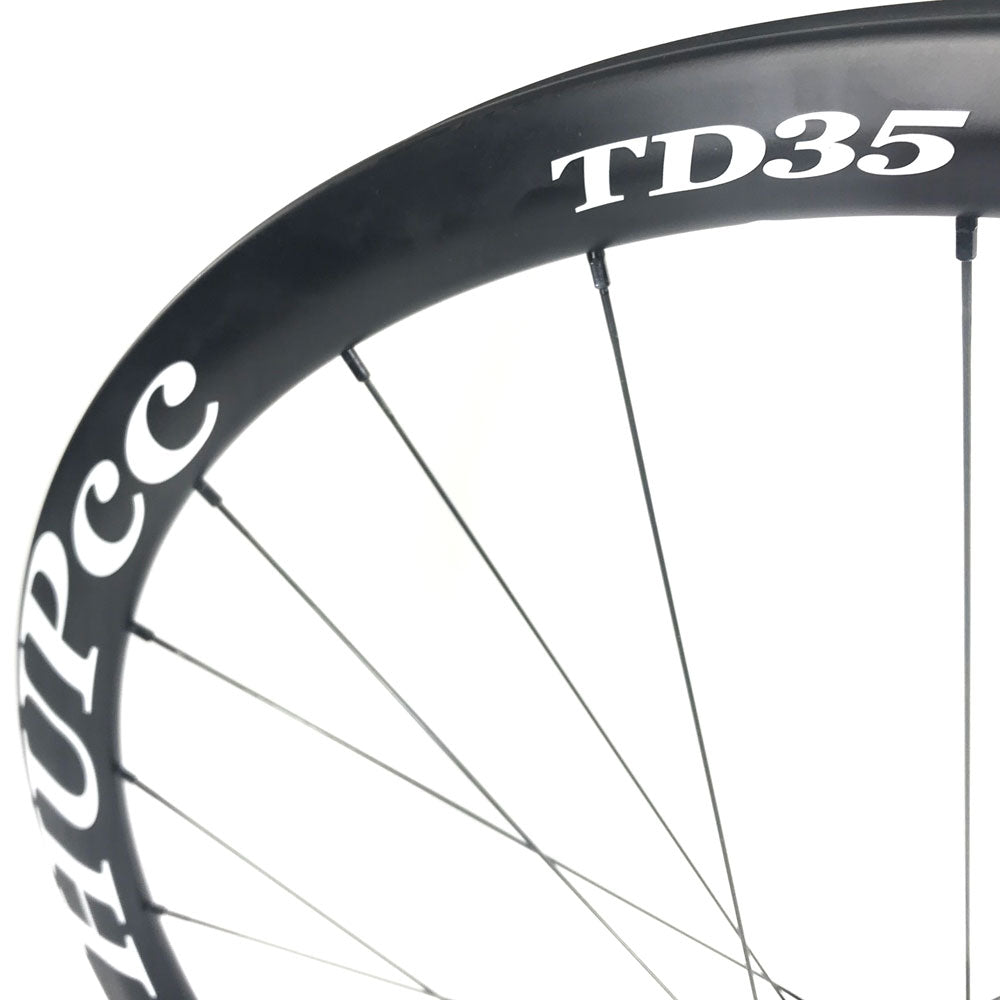 HUP TD35 700c Aero Wheelset 35mm Deep