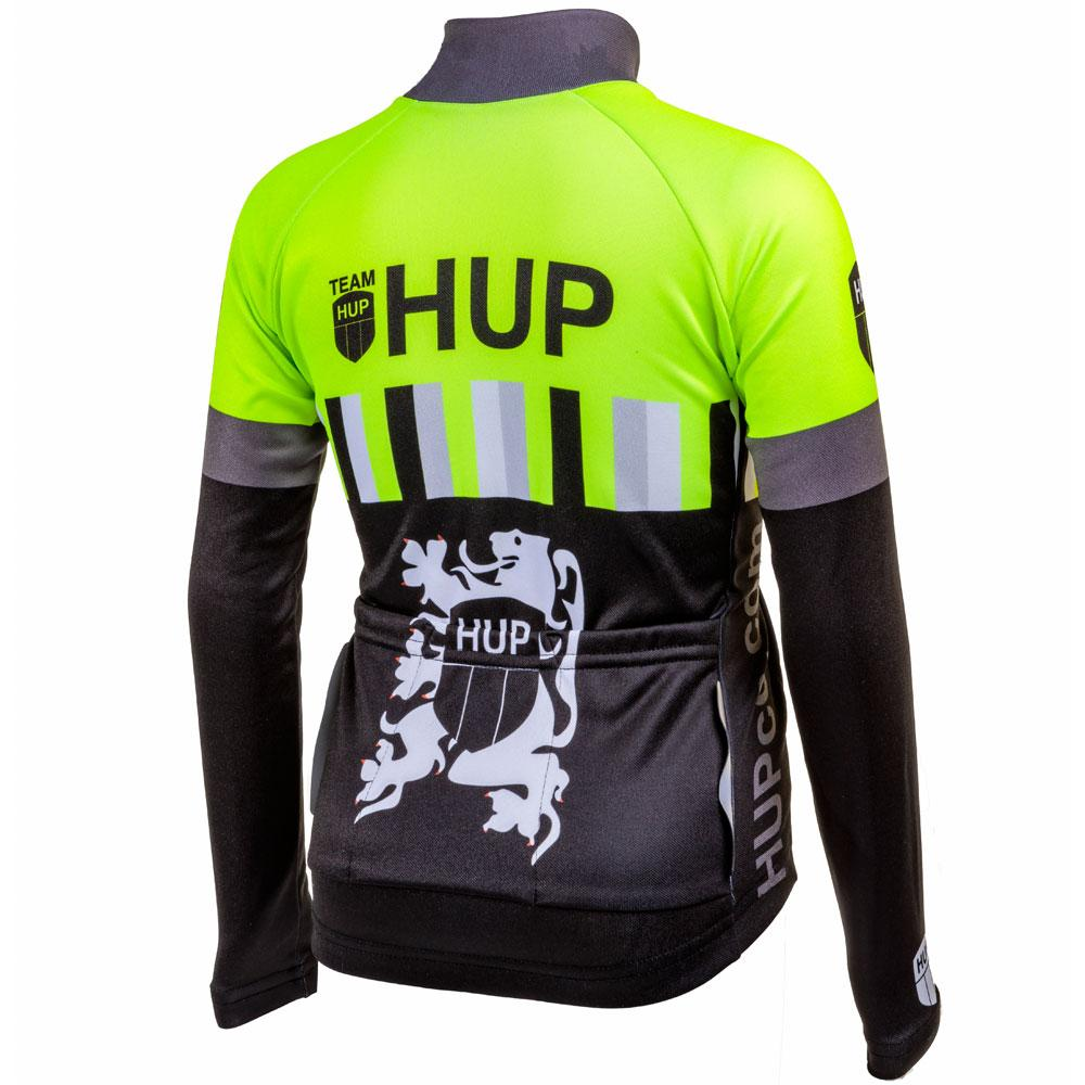 TEAM HUP Kids Winter Long Sleeved Cycling Jersey