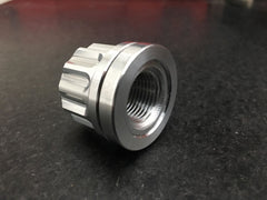 "Billet Aluminum 5/8"" Lugnuts with Encapsulated Billet Washer Built In"