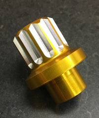 12 Point Billet 7075 Aluminum Shank Style Lug Nut