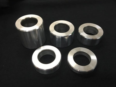 billet 6061 aluminum lug nut spacer
