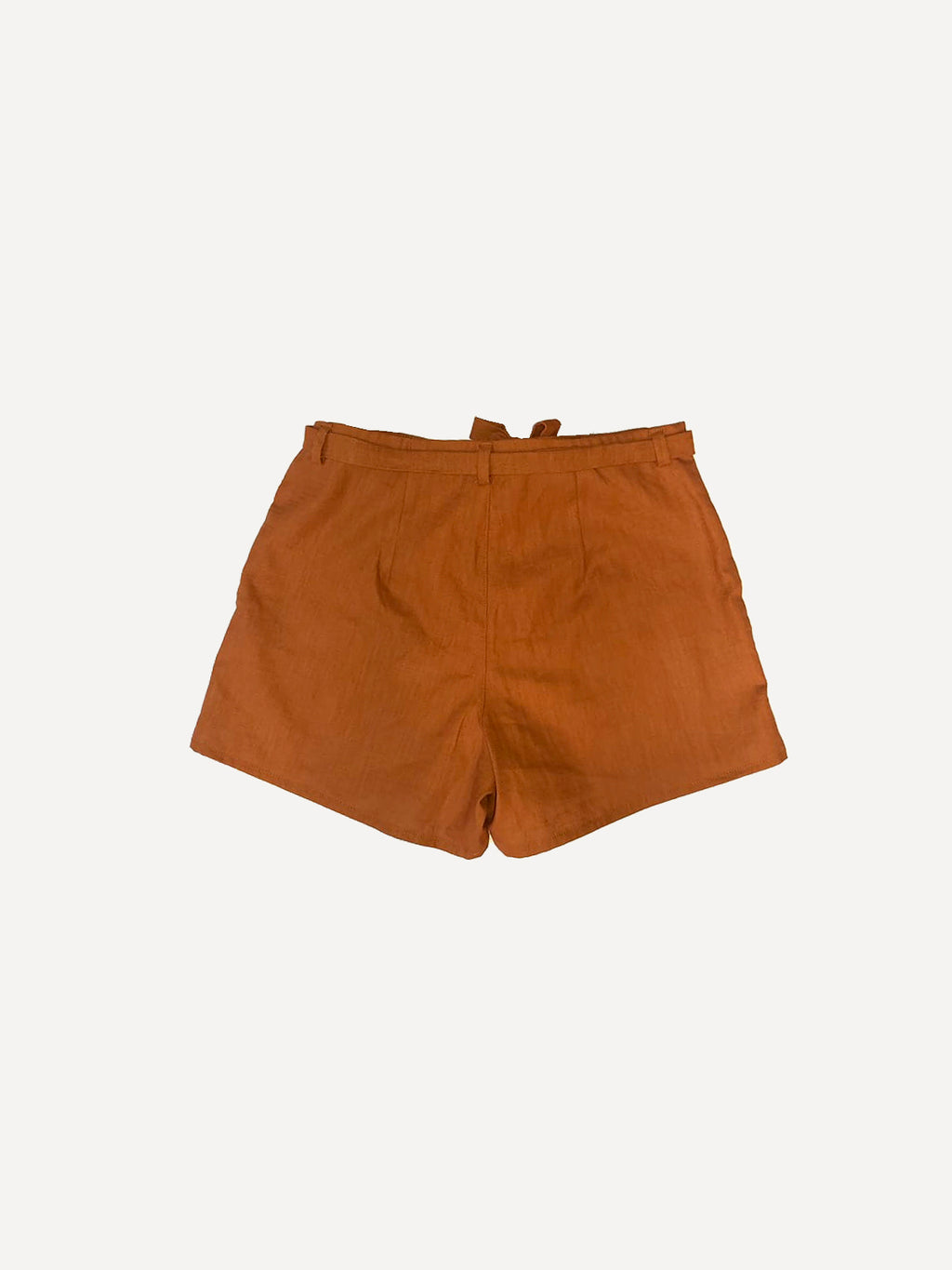 Lenvászon terracotta női sort