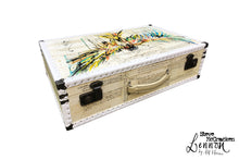 LENNON Steve McCracken (limited) Vintage Style Suitcase #00, luggage suitcase hard-sided storage, AM Florence, AMFlorence