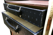 LOUIS (bedroom set) Nightstand Bedside Side Table Steamer Trunk, steamer trunk cabinet wardrobe desk, AM Florence, AMFlorence