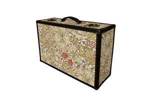 LENNON Morris Wallpaper Vintage Style Suitcase: Lennon GLB, luggage suitcase hard-sided storage, AM Florence, AMFlorence