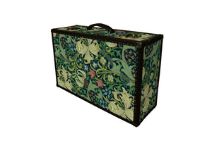 LENNON Morris Wallpaper Vintage Style Suitcase: Lennon GLI, luggage suitcase hard-sided storage, AM Florence, AMFlorence